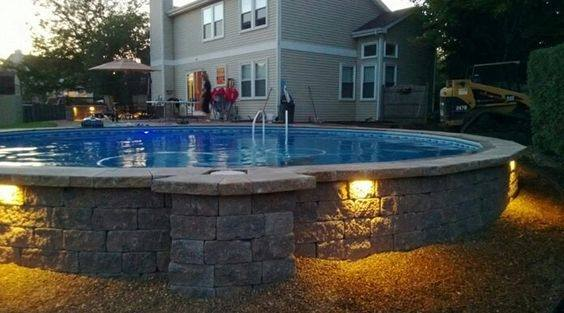 Nice Above Ground Pool Landscaping Ideas