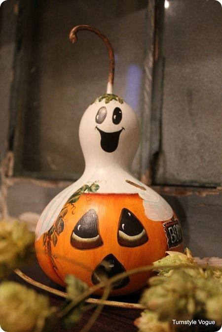 So many cute pumpkin decorating ideas here I had trouble choosing which ones to use!
