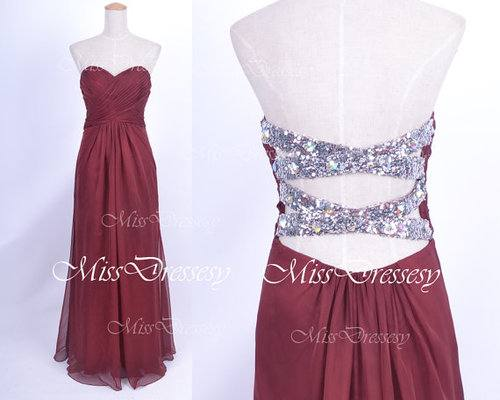 Dark Navy Blue Wine Red Colored Bridesmaid Dress A Line Chiffon Women Wear Maid Of Honor Dress For Wedding Party Gown Long Dresses Cheap Dresses From