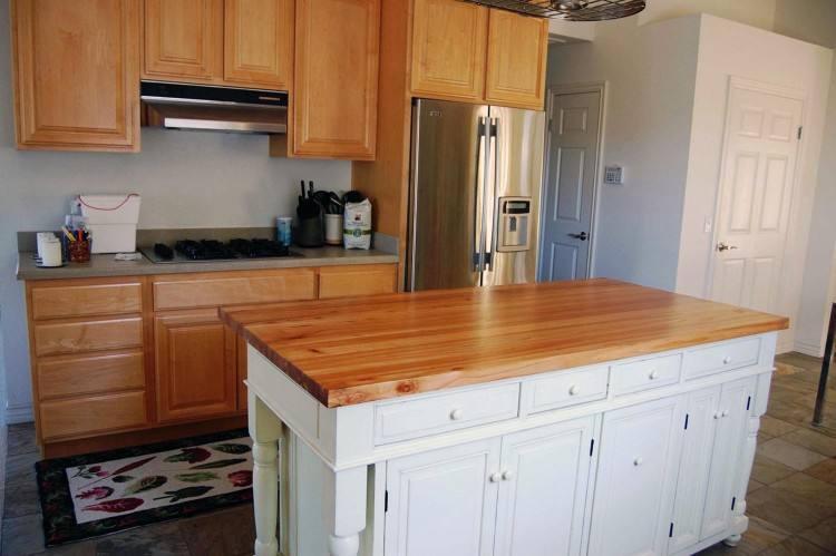 Dark Wood Countertops New Kitchen Countertop Ideas With Regard To 10    Winduprocketapps