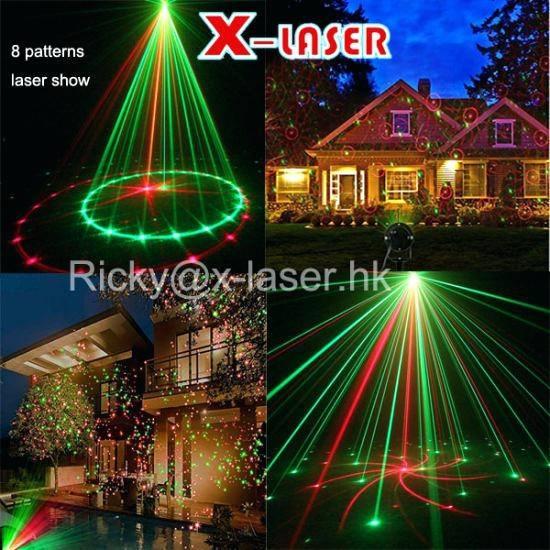 Laser Shower Outdoor