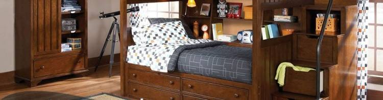 Andover Tudor Brown Bedroom Furniture Collection