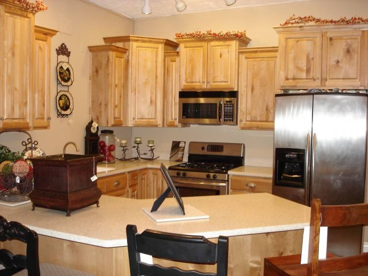 Contemporary cabinetry throughout