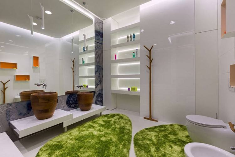 this is a stunningly easy way to make your bathroom look a million times better