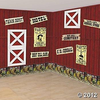 Decoration Western Party Hoedown Decorating Ideas