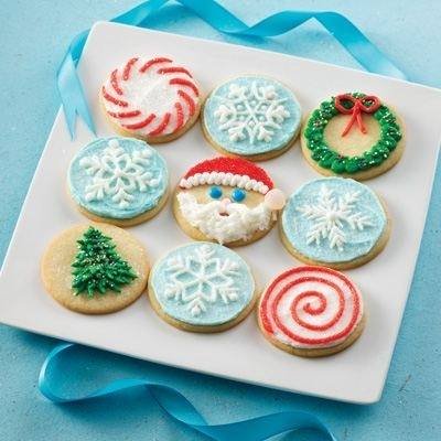 Decorated Christmas Cookies |
