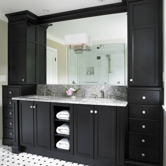 Free Standing White Bathroom Vanities In Single Bathroom Vanity Type With  Drawers Made Of Wood