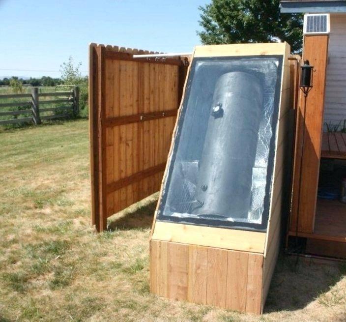 outdoor electric water heater
