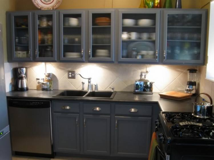 Full Size of Kitchen Cupboards Diy Painting Ideas Grey Painted Cabinets  Cabinet Modern Floor Cream Concrete