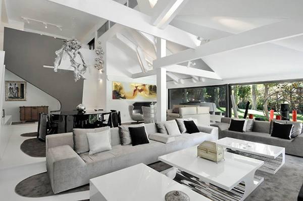 Natural Futuristic House Design Ideas Extraordinary Futuristic Interior Applied In A Futuristic House Design Furniture Home