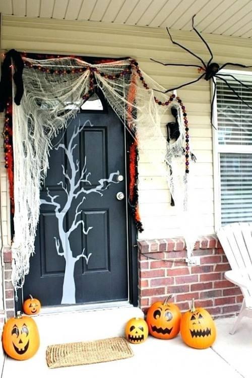 halloween door decoration ideas halloween door decoration ideas for work
