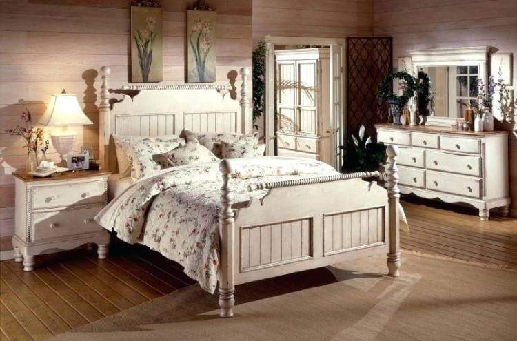 Beach Cottage Bedroom Decorating Ideas With White Furniture Home