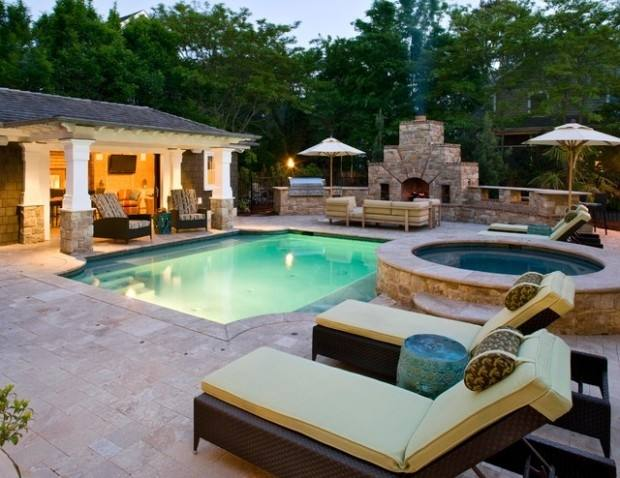 pool designs and landscaping design