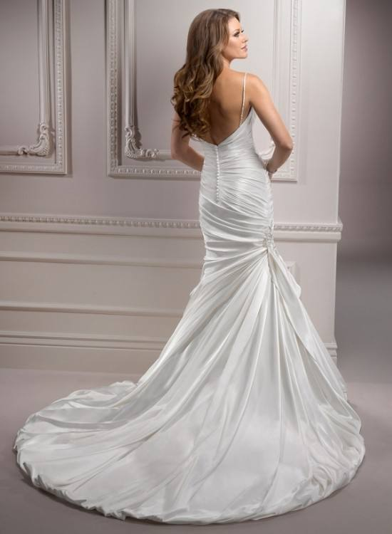 Maggie Sottero 'Jorie Ann' size 8 used wedding dress front view