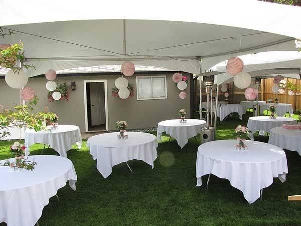 backyard wedding decoration ideas backyard wedding ideas brides