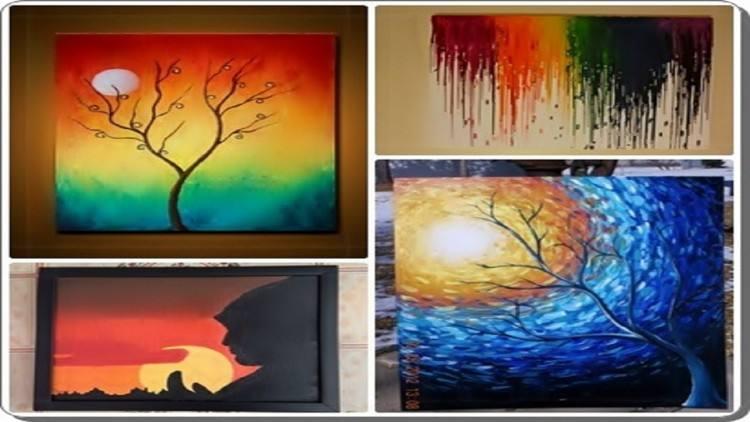 Elegant Decorative Painting Ideas For Walls Designs Idea Into Home Plus  Aliexpress Com Kup Contemporary Modern