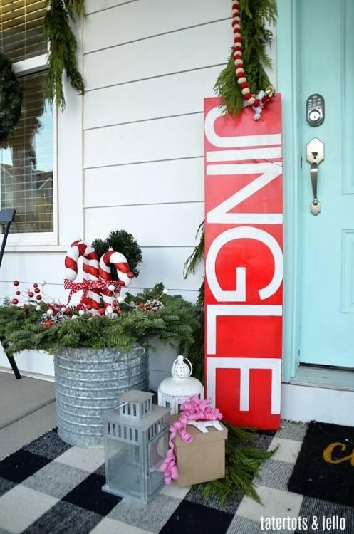 front porch christmas decorating ideas front porch