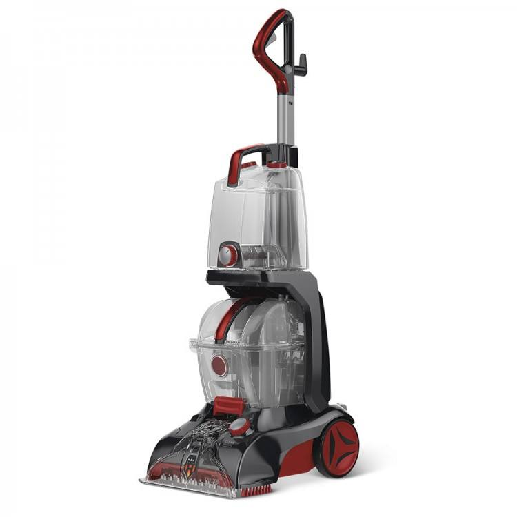 A Bissell carpet cleaner