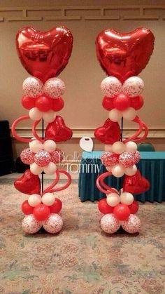 room decoration for valentine day valentines decorations hearts and red balloons
