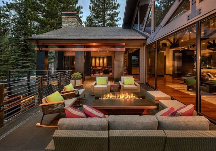 """of interior living space that flows seamlessly  into an expanse of tropical outdoor patios, it's hard to say what makes up  """""""