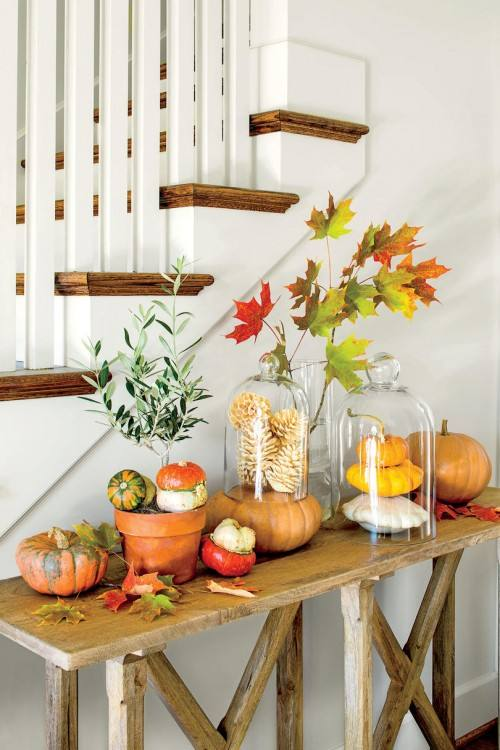 Here are some ideas for attractive Halloween themed front porches from simple ideas to more