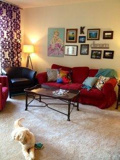 Should I Buy A Red Sofa Red And Grey Living Room Ideas Red Wall  regarding Incredible