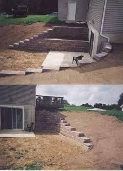 Landscape Design App Walkout Basement Landscaping Ideas Best Retaining Walls Ideas On Wall Landscape Design Backyard Walkout Basement Home Virtual Landscape
