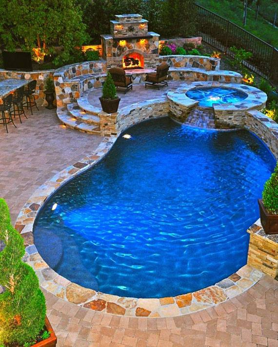 Back Yard Swimming Pool Designs Natural Pools