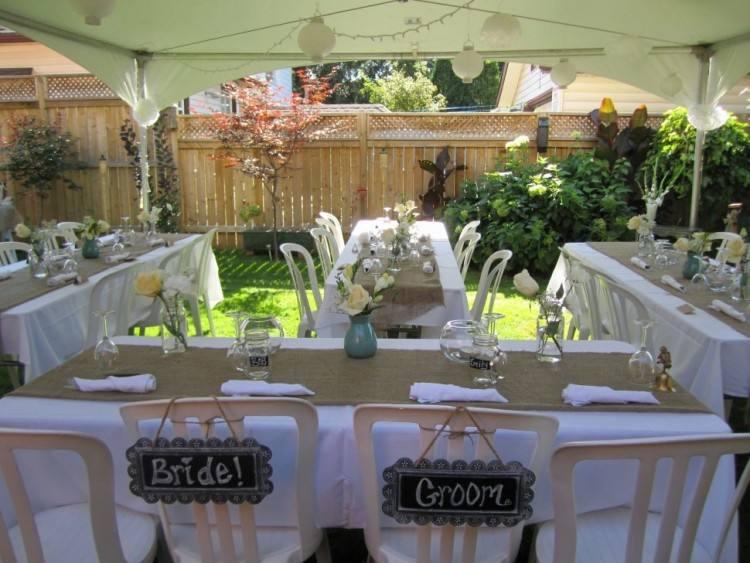 Full Size of Backyard Backyard Wedding Decoration Ideas Backyard Wedding Reception Ideas