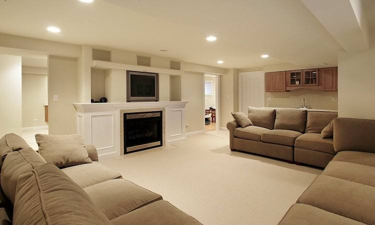 Decorations Cool Basement Remodeling Ideas Finished Before And After