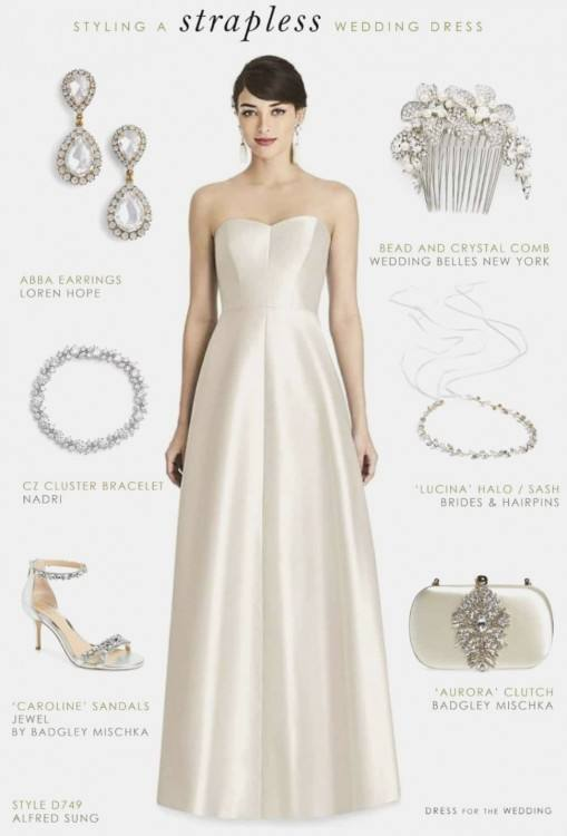 How To Choose Your Wedding Day Jewelry via TheELD